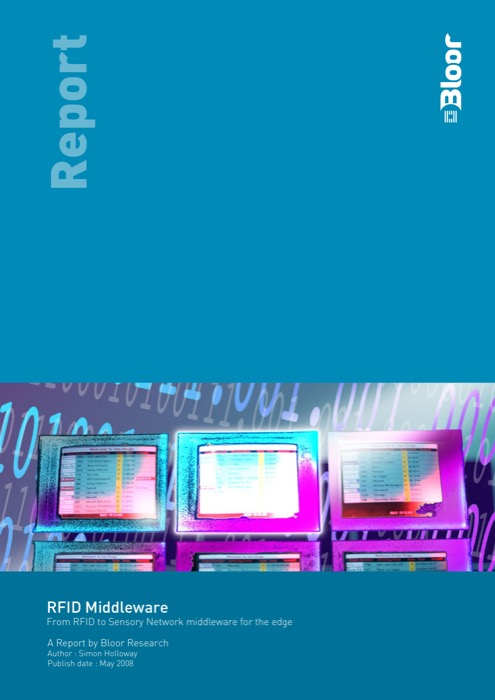 Cover for RFID Middleware - From RFID to Sensory Network middleware for the edge