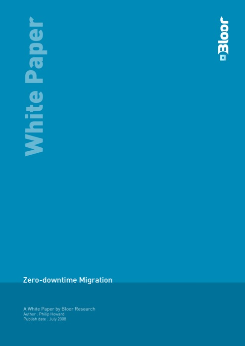 Cover for Zero-downtime Migration