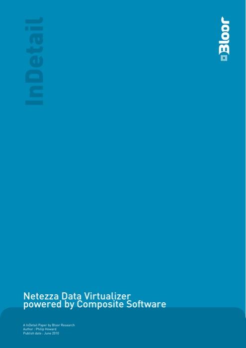 Cover for Netezza Data Virtualizer