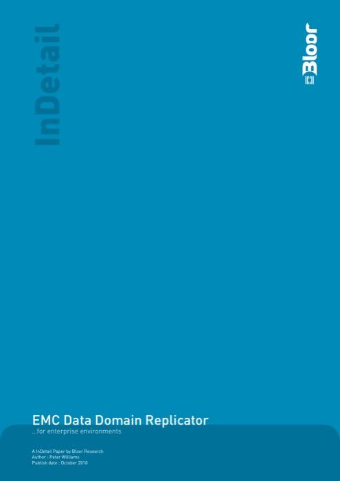 Cover for EMC Data Domain Replicator