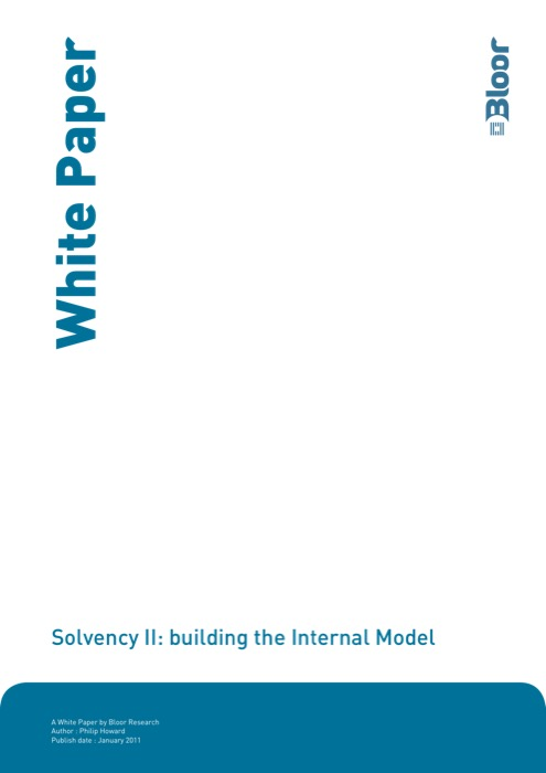 Cover for Solvency II: building the Internal Model
