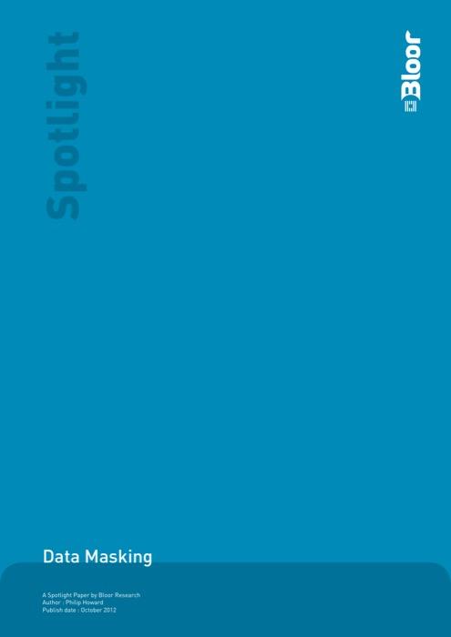 Cover for Data Masking