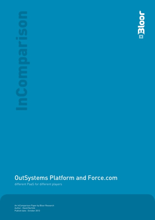 Cover for OutSystems Platform and Force.com