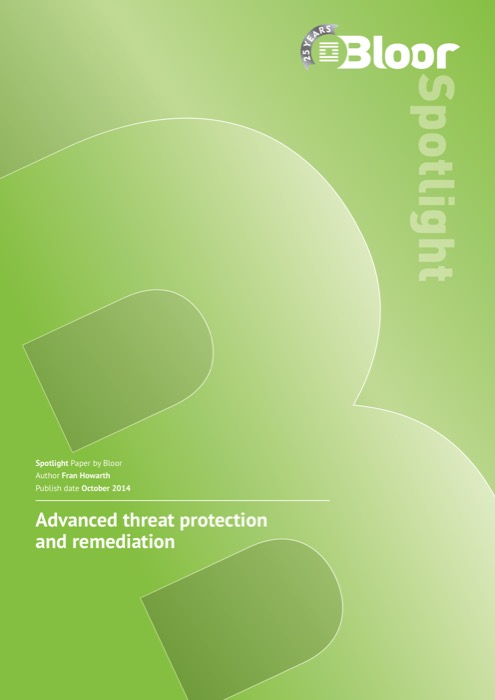 Cover for Advanced threat protection and remediation