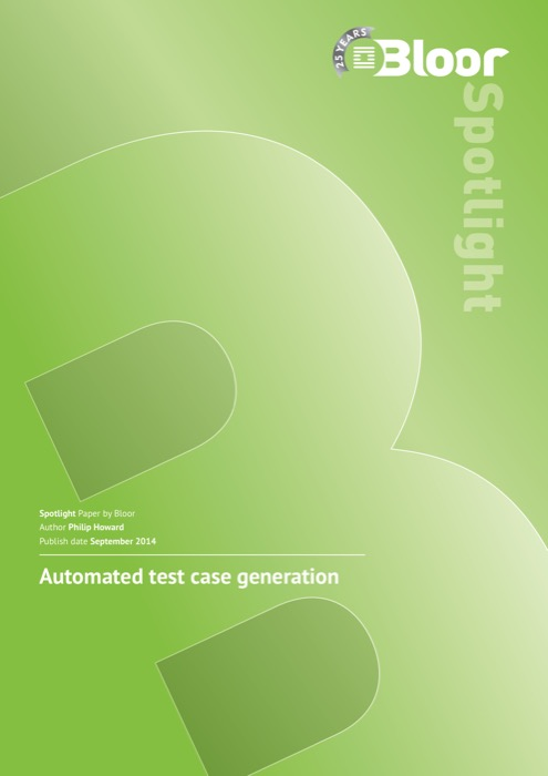 Cover for Automated test case generation