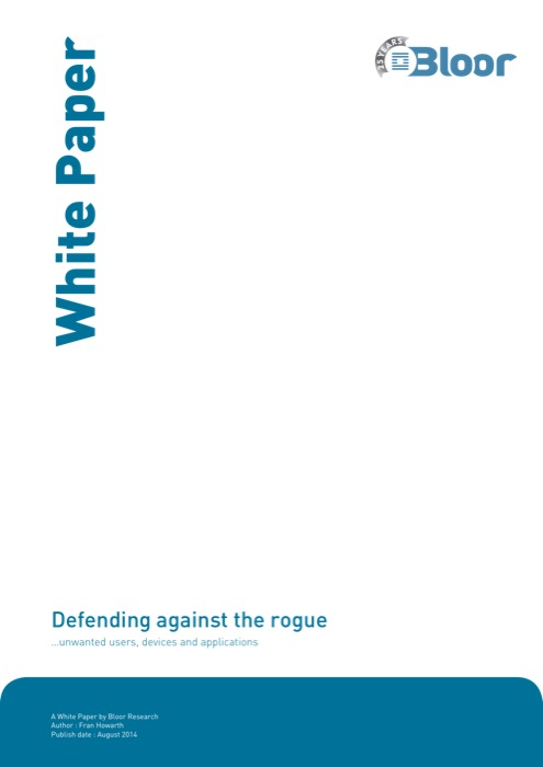 Cover for Defending against the rogue - unwanted users, devices and applications