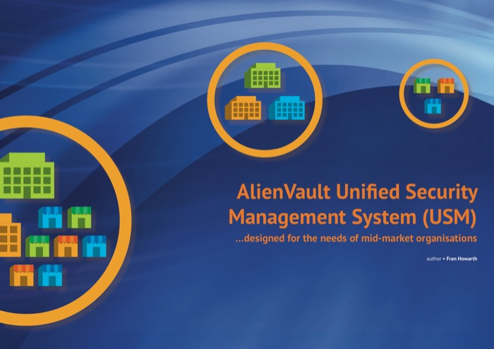 Cover for AlienVault Unified Security Management System (USM) - ... designed for the needs of mid-market organisations