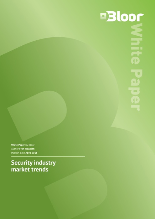 Cover for Security industry market trends