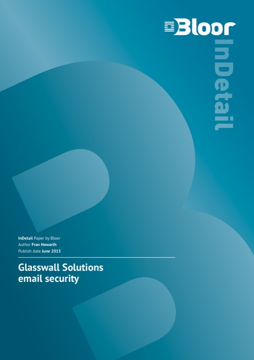 Cover for Glasswall Solutions email security