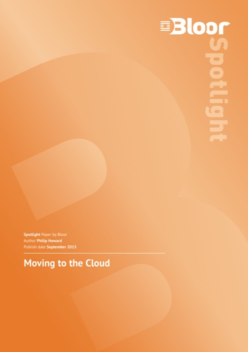 Cover for Moving to the Cloud