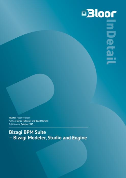 Cover for Bizagi BPM Suite