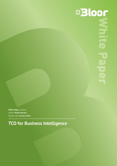 Cover for TCO for Business Intelligence