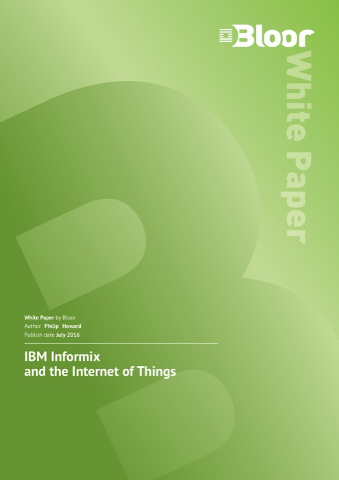 Cover for IBM Informix and the Internet of Things