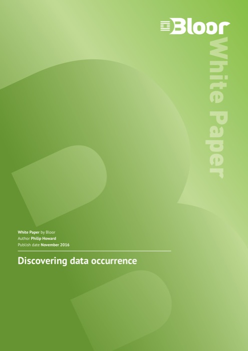 Cover for Discovering data occurrence