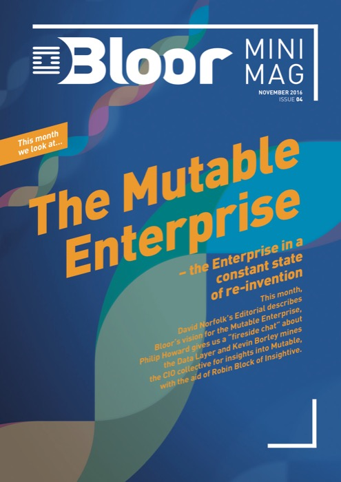 Cover for MiniMag Issue #4 – November 2016 - The Mutable Enterprise
