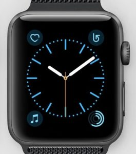 Photo of the Apple Watch