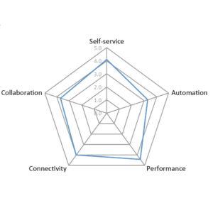 Spider diagram for InfoSphere Information Server