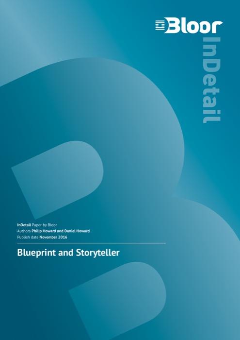 Cover for Blueprint and Storyteller