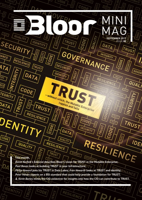 Cover for MiniMag Issue #5 – September 2017 – Trust
