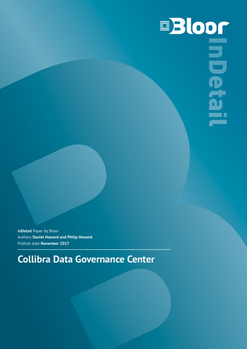 Cover for Collibra Data Governance Center