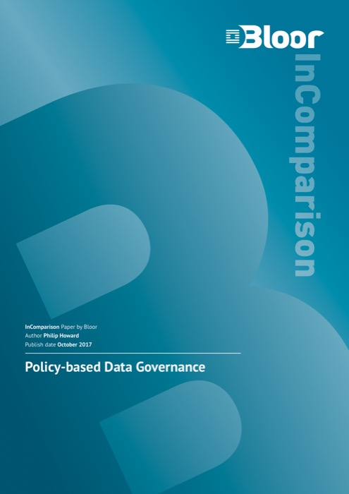 Cover for Policy-based Data Governance