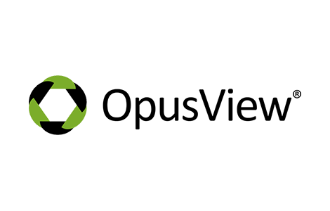 OpusView from IdeasCast logo