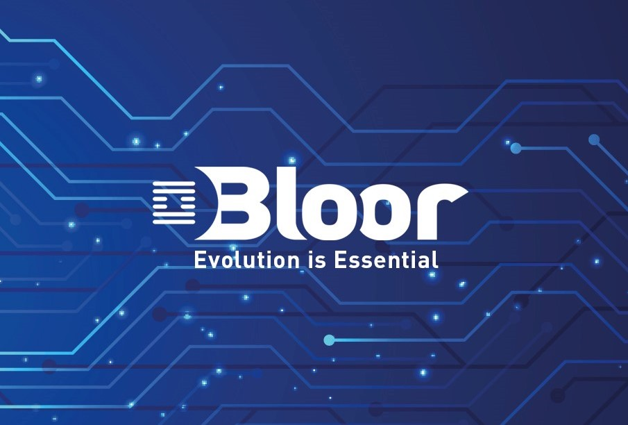 Bloor logo screen