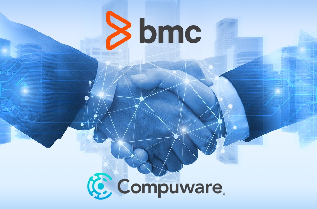 A Handshake Signifying The Acquisition Of Compuware By BMC