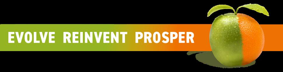 Evolve Reinvent Prosper banner