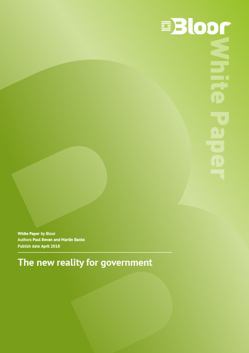 Cover for The new reality for government