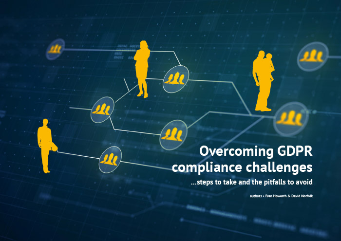 Cover for Overcoming GDPR compliance challenges - steps to take and the pitfalls to avoid