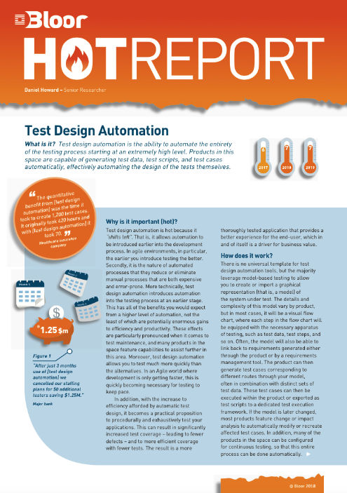 Cover for Test Design Automation (July 2018)
