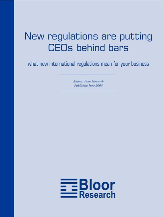 bloor research white papers Tdwi white paper library tdwi maintains this library of white papers as a resource for in-depth research and commentary about the big data, business intelligence, data warehousing, and analytics industry.