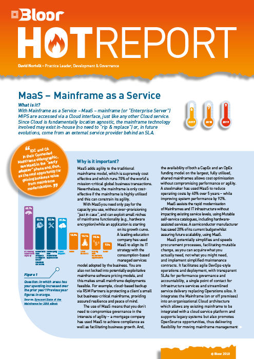 Cover for MaaS – 