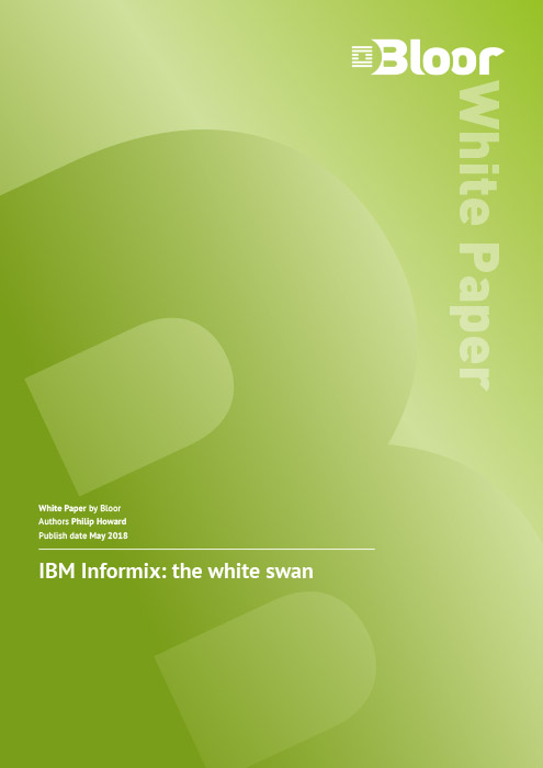 Cover for IBM Informix – The White Swan