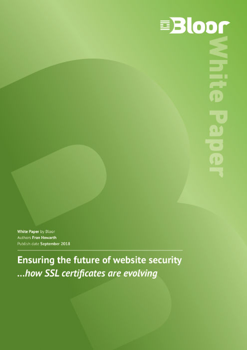 Cover for Ensuring the future of website security - ... how SSL certificates are evolving