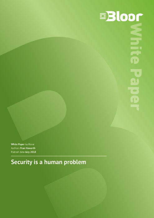 Cover for Security is a human problem
