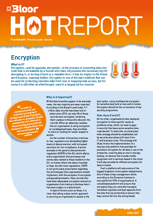Cover for Encryption