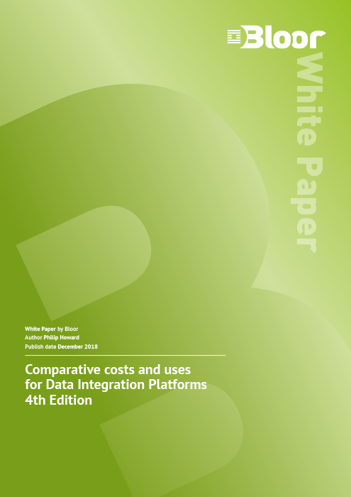Cover for Comparative costs and uses for Data Integration Platforms 4th Edition