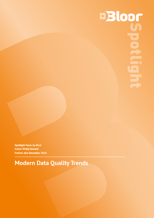 Cover for Modern Data Quality Trends