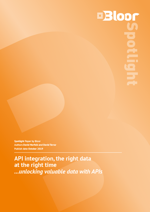 Cover for API integration, the right data at the right time - Unlocking valuable data with APIs