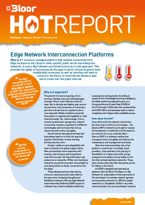 Cover for Edge Network Interconnection Platforms