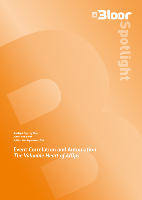 Cover for Event Correlation and Automation - The Valuable Heart of AIOps