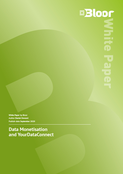 Cover for Data Monetisation and YourDataConnect