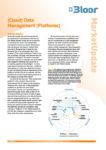 CLOUD DATA MANAGEMENT PLATFORMS Market Update (thumbnail)