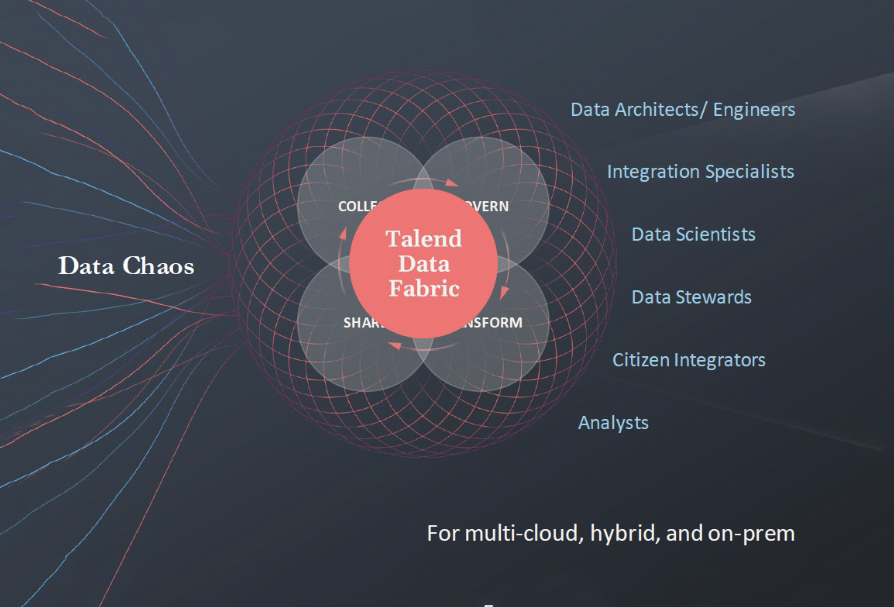 Fig 01 - Personas supported by the Talend Data Fabric