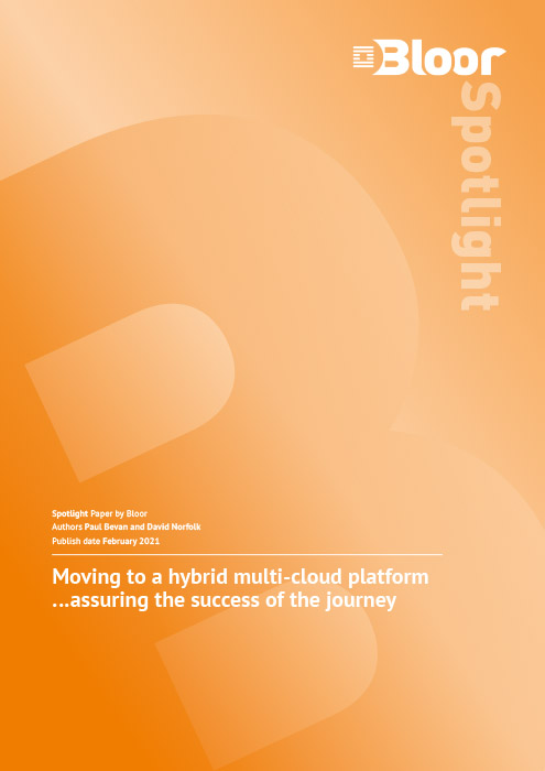 Cover for Moving to a hybrid multi-cloud platform - Assuring the success of the journey