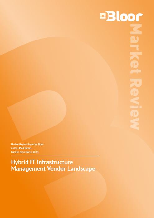 Cover for Hybrid IT Infrastructure Management Market Vendor Landscape