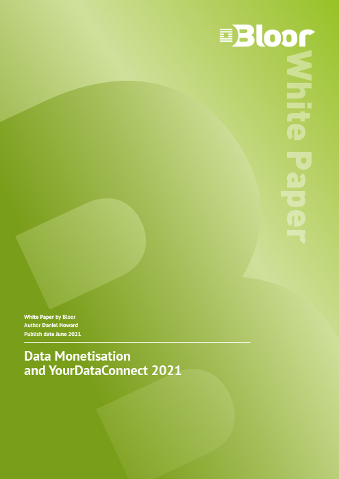 Cover for Data Monetisation and YourDataConnect 2021