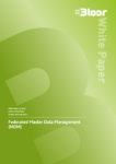 FEDERATED MASTER DATA MANAGEMENT White Paper (cover thumbnail)